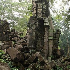 Ruined stone Banteay chhmar